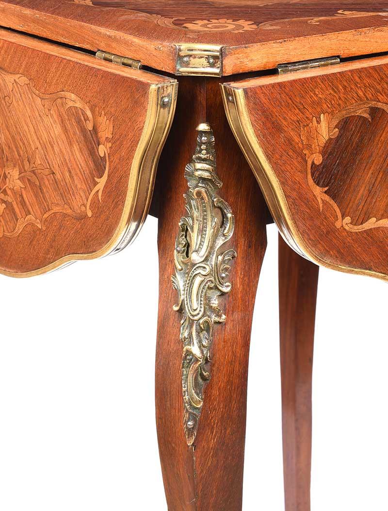 Lot 2 - EDWARDIAN LAMP TABLE