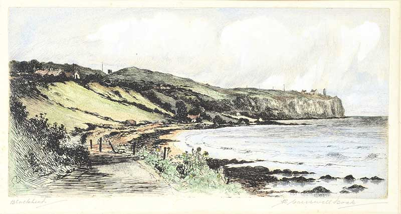 Lot 18 - COLOURED ENGRAVING R. CRESSWELL BOAK