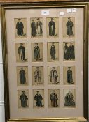 The Costumes of the Members of The University of Oxford, print,