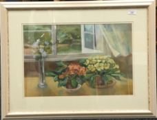 DAWN TAYLOR (20th century) British, Summer Breeze, pastels, signed,