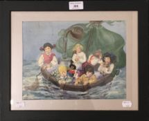 20th century, Children at Sea in a Tub,