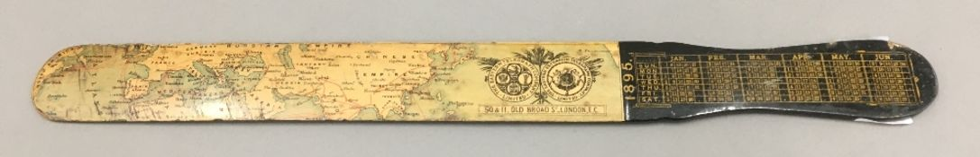 A Victorian Eastern Telegraph Company letter opener