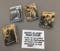Four Des Fuhrers miniature books