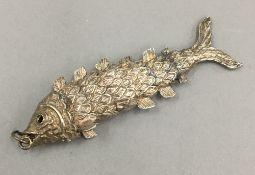 A silver fish