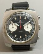 A Certina Timer gent's chronograph wristwatch, reference 8401.