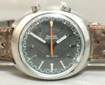 An Omega Chronostop Driver watch, reference 145.