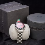 A TAG Heuer FIA F1 gentleman's chronograph wristwatch With red dial,
