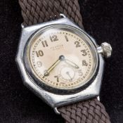 A vintage Pre-War Rolco Oyster wristwatch by the Rolex Watch Co.