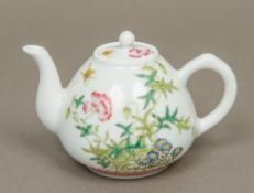 A Chinese Republic style painted porcela