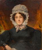 ENGLISH SCHOOL (19th century) Portrait of Ellen Marsden (1783-1848),