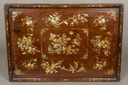 A 19th century Chinese mother-of-pearl i
