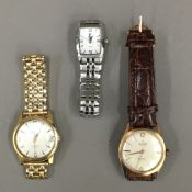 Two gentleman's automatic watches,