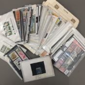 A quantity of stamps