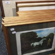A quantity of horse related prints