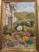 Landscape, oil on canvas,