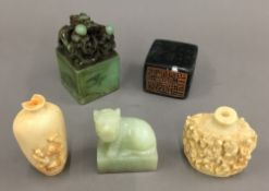 A quantity of Chinese seals, etc.