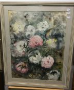 Two floral study watercolours by the same hand, signed indistinctly and dated 1978 and 1982,