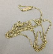 A 14 K gold chain (4 grammes)