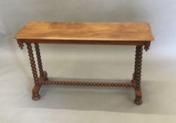 A Victorian mahogany centre table