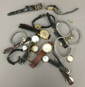 A bag of watches