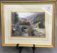 MICHAEL CRAWLEY, Eskdale, Yorkshire, watercolour,
