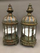 A pair of lanterns