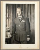 Prince Philip: (1921- ) Duke of Edinburgh, husband and consort of Queen Elizabeth II,