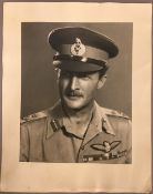 A quantity of black and white military photographic prints relating to Lieutenant General Frederick