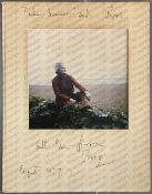 Daphne du Maurier: (1907-1989) British Author, signed colour photograph of Daphne,
