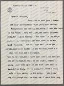 """I forgot all your instructions..."", Daphne du Maurier: (1907 - 1989) British Author, T.L.S."