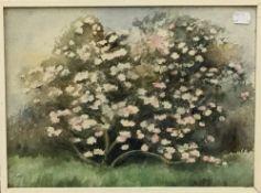 "MAUD WADDELL (20th century) British ""Rodies at Menabilly"" Watercolour,"