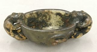 A small Chinese libation cup