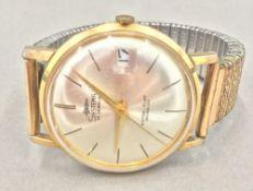 An Incabloc wristwatch