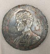 A medallion souvenir of the Princess of Wales' Private Military Hospital, The Gables Surbiton,