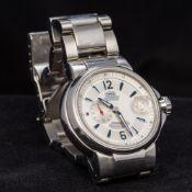 An Oris stainless steel cased automatic calendar chronometer gentleman's wristwatch,