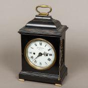 A George III ebonised repeat striking bracket clock by George Graham,