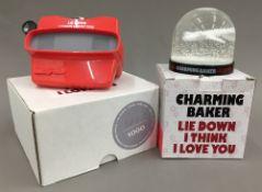 CHARMING BAKER (born 1964) British (AR) Lie Down I Think I Love You Snow Globe;