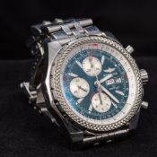 A Breitling for Bentley gentleman's stainless steel cased automatic calendar chronograph wristwatch,