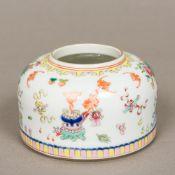 A Chinese porcelain brush wash