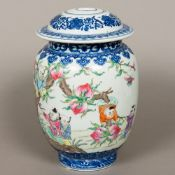 A finely painted Chinese Republican peri