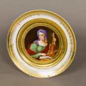 A 19th century Continental porcelain, po