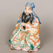 A Japanese Meiji period porcelain figure