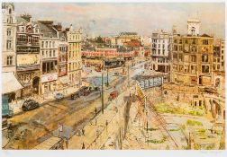 CAREL WEIGHT (1908-1997) British (AR) Holborn '47 Limited edition print,
