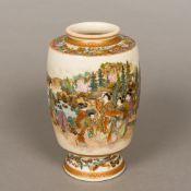 A late 19th century Japanese Satsuma pot