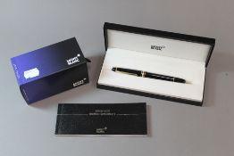 A Montblanc fountain pen,