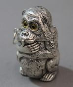A vesta in the form of a monkey