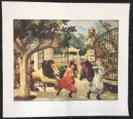 CAREL WEIGHT (1908-1997) British (AR), Allegro Strepitoso, limited edition print, signed,