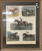 RICHARD STONE REEVES (1919-2005), The Five Greatest I Ever Rode, limited edition print, signed,