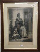 WILLIAM HENRY SIMMONS (1811-1882) British, After THOMAS FAED (1826-1900) British,