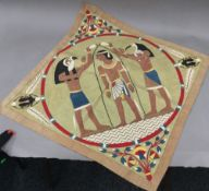 An early 20th century Egyptian applique,